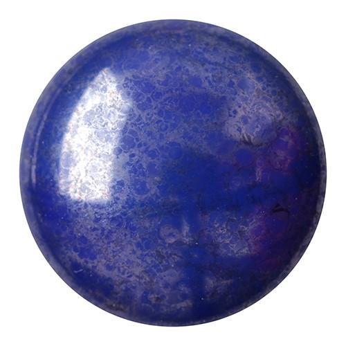 CP-18 Opaque Sapphire Silver Cabochon Par Puca® 18 mm. Round-0