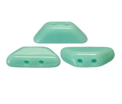 TIN-63130 Opaque Green Turquoise Tinos par Puca -0