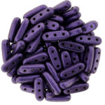 CMBM-79021MJT Metallic Suede – Purple CzechMates® Beam 10 gram-0