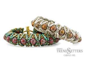 Denali Cuff, Free Pattern with CzechMates™ Beam Beads.-0