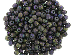 FP-2,5-21195JT Fire Polished Matte Iris Purple 2,5 mm.-0