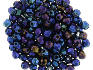 FP-2,5-21435JT Fire Polished Iris Blue 2,5 mm.-0