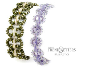 Lacy Links, Free Pattern with TOHO Demi Round Beads AND CzechMates® Crescent-0