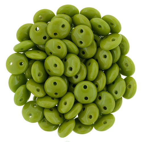 CML-53420 CzechMate Lentils Opaque Olive 40 Pc.-0