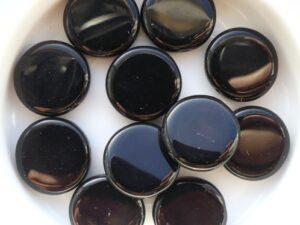 0010030 Zwarte ( Jet) Donut 14 Pc.-0
