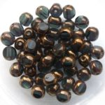 0020302 Montana Bronze 3 Cut 6 mm. 22 Pc.-0