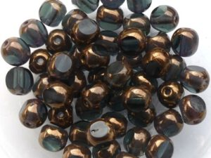 0020302 Montana Bronze 3 Cut 6 mm. 22 Pc.-0