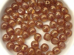 0040248 Opal Beige Bronze 3 Cut 6 mm. 20 Pc.-0