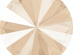 14 mm. 001-L106S Crystal Ivory Cream 1122 Swarovski Rivoli-0
