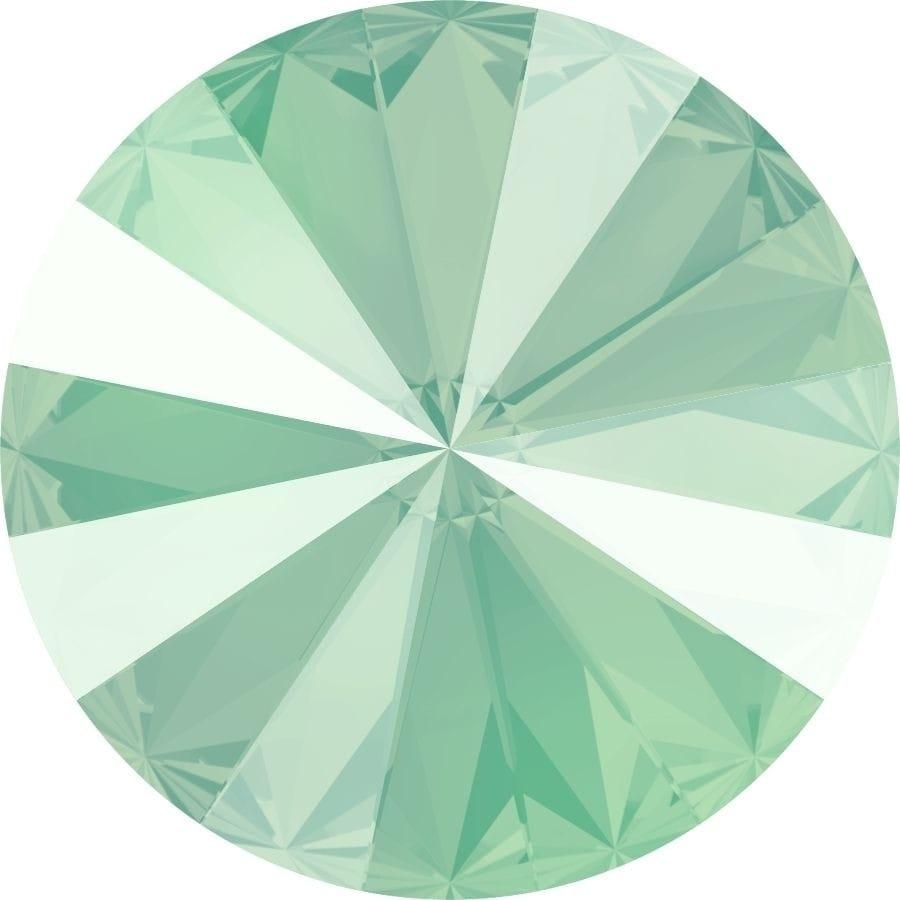 14 mm. 001-L115S Crystal Mint Green 1122 Swarovski Rivoli-0