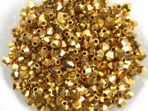 03-MC-00010-AUx2 Bicone, Full Aurum 3 mm 20 Pc.-0