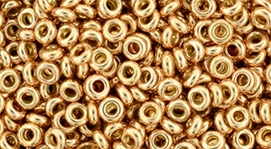 TN-08-PF0551 Demi Round TOHO: Perma Finish - Galvanized Rose Gold-0