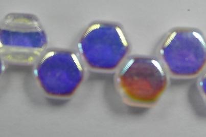 HON-00030-28701, Crystal AB Honeycomb Beads, 30 stuks-0