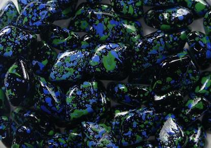 GD-23980-24404 GemDuo Jet Blue Confetti 10 gram-0