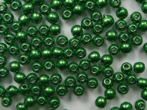 02-R-77059CR Color Trends Saturated Metallic Kale round 2 mm. 150 Pc.-0