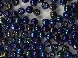 02-R-21435JT Iris Blue round 2 mm. 150 Pc.-0