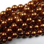 08-132-10271 Copper Glass Pearl 25Pc.-0