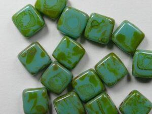 CMT-63130T CzechMates Tile Picasso - Turquoise 15 Pc.-0