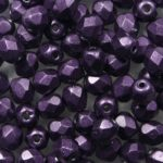 FP-04-04B02 Color Trends: Saturated Metallic Tawny Port facet 4 mm. 50 Pc.-0
