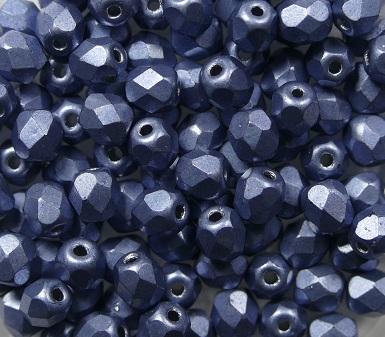 FP-04-04B06 Color Trends: Saturated Metallic Neutral Gray facet 4 mm. 50 Pc.-0