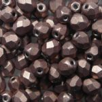 FP-04-77057CR Color Trends: Saturated Metallic Pale Dogwood facet 4 mm. 50 Pc.-0