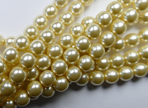 08-132-10001 Old Lace Glass Pearl 25 Pc.-0