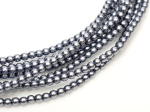 08-132-70488 Grey Glass Pearl 25 Pc.-0