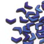 CHEV-23980-22203 Chevron Duo Beads Jet Full Azuro 30 stuks-0