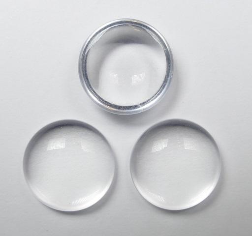 CP-18-00030 Crystal Cabochon Par Puca® 18 mm. Round-0