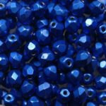 FP-03-04B09 Color Trends Saturated Metallic Marina facet 3 mm. 50 Pc.-0
