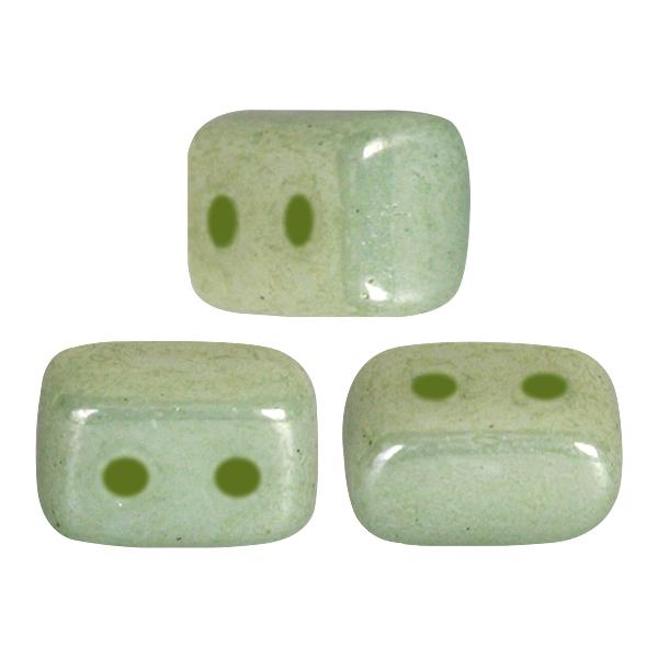 IOS-03000-14457 Ios® par Puca Opaque Light Green Ceramic Look 10 gram-0