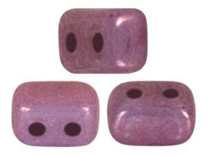 IOS-03000-15726 Ios® par Puca Opaque Mix Amethyst/Gold Ceramic Look 10 gram-0