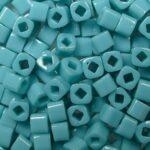 TC-03-0055 Opaque Turquoise 3 mm Toho Cubes-0