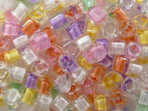 TC-03-BMP Color Lined Pastel Mix 3 mm Toho Cubes-0