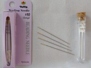 Naald T-#10 Tulip Naalden #10 buisje met 4 stuks-0