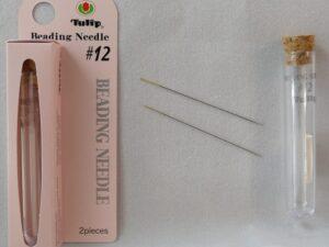 Naald T-#12 Tulip Naalden #12 buisje met 2 stuks-0
