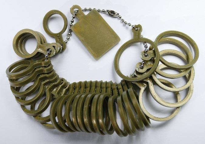 FR-size Kunststof ringen voor maatvoering OP=OP-0