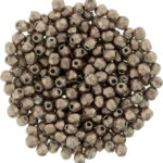 FP-03-77057CR Fire Polished ColorTrends: Saturated Metallic Pale Dogwood 3 mm.-0