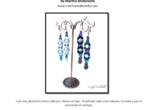 Orecchini Earrings: Gratis Patroon bij Chevron or Honeycomb-0