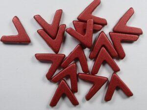 AVA-01890 Lava Red AVA Beads 10 Pc.-0
