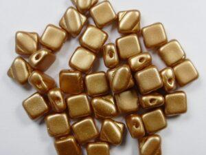 SL-02010-25003 Silky Bead Alabaster Pastel Amber 30 Pc.-0