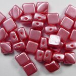 SL-02010-25007 Silky Bead Alabaster Pastel Light Coral 30 Pc.-0