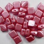 SL-02010-25007 Silky Bead Alabaster Pastel Light Coral 30 Pc.-0