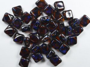 SL-10100-86800 Silky Bead Dark Topaz Travertin 30 Pc.-0