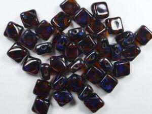SL-10100-86800 Silky Bead Dark Topaz Travertin 30 Pc.-0