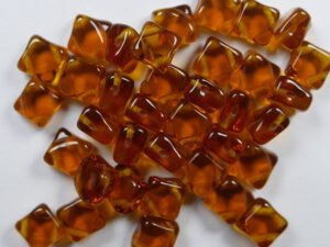 SL-10100 Silky Bead Dark Topaz 30 Pc.-0