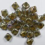 SL-40020-22903 Silky Bead Black Diamond Full Clarit 30 Pc.-0