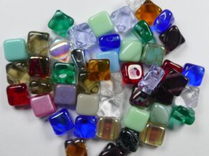 SL-color mix Silky Bead Assorted colors 25 gram-0