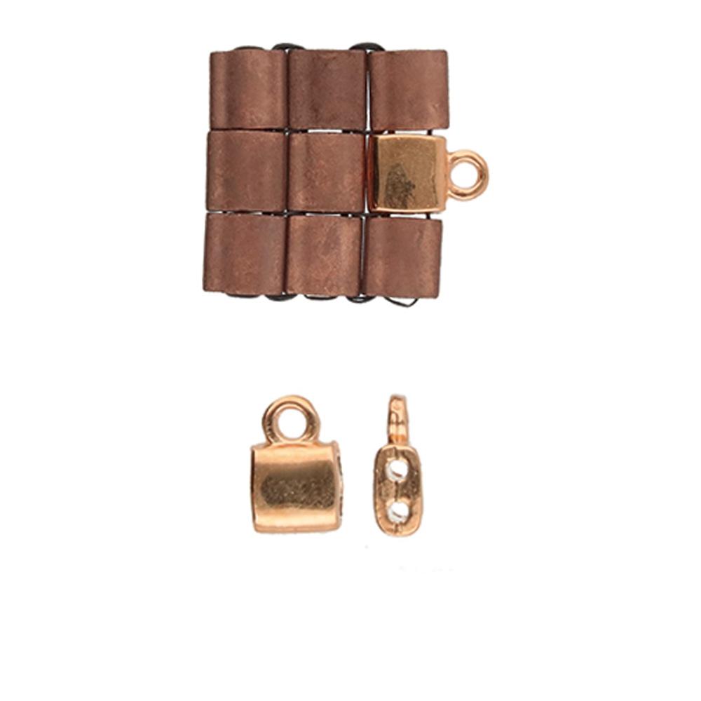 Cym-TL-012359-RG set van 2 stuks Cymbals Piperi Rose Gold Plated-0