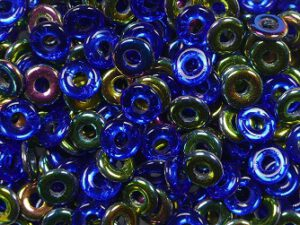 O-30070-28101 Sapphire Vitrail O bead ® 5 gram.-0